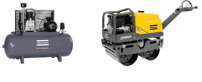 Atlas Copco Compressors and Compactors